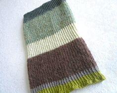 bloc de couleur de cheminée foulard zébré de par olivebrown