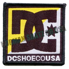 DC Shoe Company USA Patch
