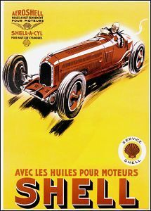 Ferrari teamed up with Shell in 1937