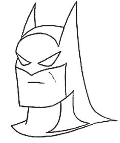 Dibujo de Batman