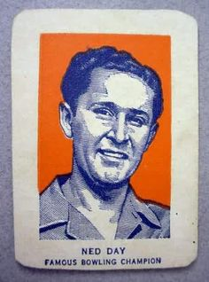 Ned Day card, 1952, Wheaties prize