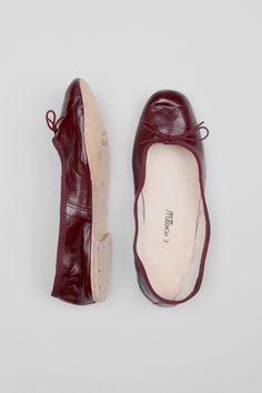 Porselli | Ballet Flat - Bordeaux | My Chameleon