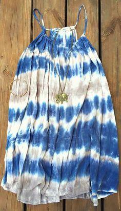 By The Sea Tie Dye Dress
