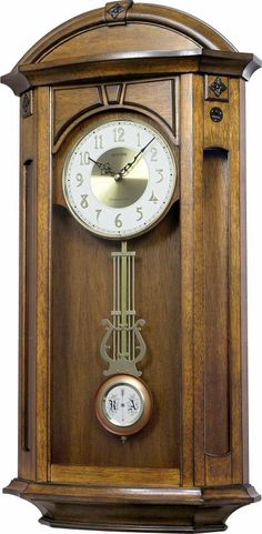 Looking for a new clock.  I like the uniqueness of this one. Rhythm Valencia Westminster WSM Musical Wall Clock with Strike  Melody Chime