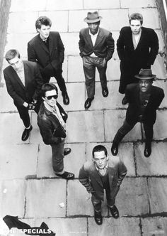 The Specials // Coventry March 1979 Ska 2 Tone Ska Punk, Terry Hall, Genre Musical, Ska Music, Laurel, Band Photography, Street Photography, Teddy Boys, New Wave