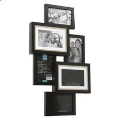 I like multiple picture frame apparatuses.