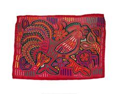 Kuna Indians (Panama) - Shirt Panel (Mola) - Art Prints from MOLA at indianapolis museum of art