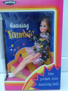 Boxed Palitoy Dancing Tammie Pippa Doll