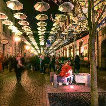 Light Move Festival 2014 Łódź, Poland - 6 Sierpnia Woonerf  - via DarkFrame
