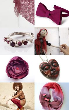 Best MARSALA (color of the year)  finds by RE on Etsy--Pinned with TreasuryPin.com