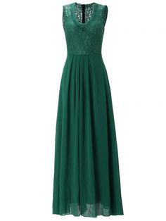 GET $50 NOW | Join RoseGal: Get YOUR $50 NOW!http://www.rosegal.com/maxi-dresses/sleeveless-lace-panel-maxi-dress-914561.html?seid=2275071rg914561