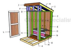 19 Practical Outhouse Plans for Your Off-Grid Homestead Building An Outhouse, Shed Building Plans, Building Ideas, Off Grid, Wood Storage Sheds, Storage Shed Plans, Lavabo Exterior, Outhouse Bathroom, Outdoor Toilet
