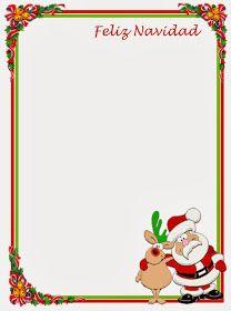 Caratulas Para Word Navidad Navidad Cartas De Navidad Y