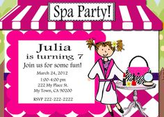 I was in the mood for a spa party