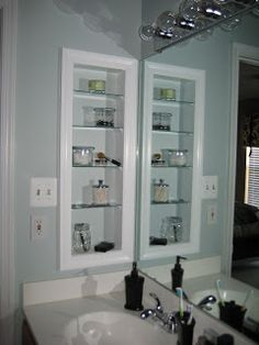 Replace Medicine Cabinet Door Simple How To Replace Medicine Cabinet With Open Shelves  Home Improvement Review