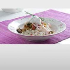 Ratatouille med rejer opskrift