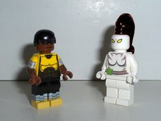 Custom Power Man and White Tiger from Ultimate Spider-Man by ryffranck029, via Flickr