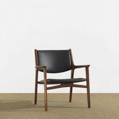 Hans J. Wegner. Lounge chair, ca 1955.
