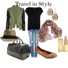 """""""Travel in Style"""" by thirtysomethingfashion on Polyvore"""