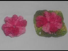 croche flor catavento