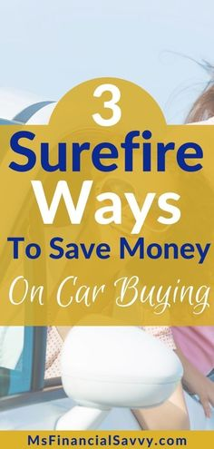 Do you want to save money on car buying? Your not alone, but it is difficult, here I give you car buying clues. // Ms Financial Savvy -- #carbuying #cars #savemoney #moneytips #savemoneyoncars #usedcars #newcarbuying #financialfreedom #financialliteracy #save