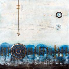 Pam Nichols, Encaustic Painting