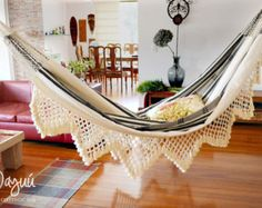 Aguadas Hammock wedding gift boho traditional by wayyuhammocks