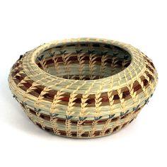 Pine Needles Braceles | Wild Grass and Pine Needle Art Bowl Basket