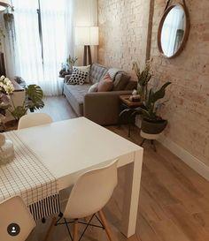 Sala do no projeto da UNE Arq Design. Decor, Home Decor Inspiration, Home N Decor, Living Room Decor, Home Decor, House Interior, Apartment Decor, Home Deco, Interior Design