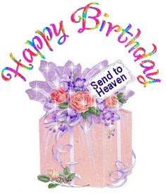 Here you find the best free Happy Birthday In Heaven Clipart collection. You can use these free Happy Birthday In Heaven Clipart for your websites, documents or presentations. Happy Birthday Donna, Birthday In Heaven Quotes, Happy Heavenly Birthday, Happy Birthday Images, Birthday Pictures, Happy Birthday Cards, Birthday Quotes, Birthday Name, 60th Birthday Party