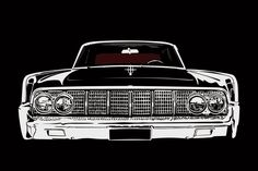 1965 Lincoln Continental - The Matrix car on Behance