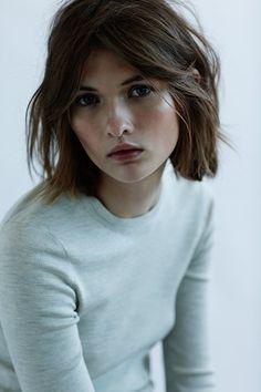 """ Lara Mullen photographed by Sam Hendel for Harper's Bazaar """