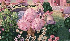 Idée 7 : Pour aménager votre Revente & Retouche, vous pouvez mettre des buissons, pleins de fleurs et un ou deux arbrisseaux