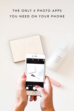 The Only 4 Photo Apps You Need on Your Phone via @PureWow