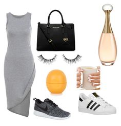 """Sin título #14"" by sofiacarbonie on Polyvore featuring moda, NIKE, adidas Originals, MICHAEL Michael Kors y Topshop"