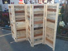 Handmade Primitive Room Divider / Movable by BanditsCollectibles, $275.00