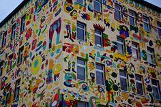 Arty building in Leipzig