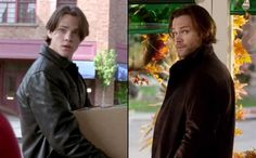 Jared as Dean (Gilmore girls) and Sam (deans brother) (supernatural) Gilmore Girls Dean, Gilmore Girls Characters, Jared Padalecki Gilmore Girls, Rory Gilmore, Castiel, Team Logan, Glimore Girls, Jared And Jensen, Sam Winchester