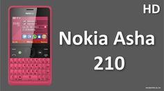 Get New latest nokia asha 210 with Dual SIM, QWERTY Keypad, 2.4 inches Display, microSD, up to 32 GB, 2 MP Camera and much more. http://youtu.be/S8_VsqMymuk
