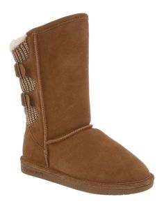 """BEARPAW """"Boshie"""" Suede Boot is on Rue. Shop it now."""