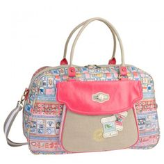 bag with haberdashery print - cute!