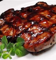 Recipe: Grilled Pork Loin Chops Summary: Tangy, a little sweet, very moist and very easy to prepare — you're going to love these grilled chops. They turn out wonderfully tasty with an awesome array of flavors. You might want to throw an extra chop on the grill for leftovers, because you will have a craving …