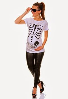 Adult Fairy Maternity Costume Deluxe Maternity Skeleton Print Cotton T-shirt (similar here) Angel Maternity Costume Mommy To Be Jack-O-Lantern Maternity T-Shirt Maternity Dark T-Shirt d… snuggle up u shaped pillow, pregnant at 41 after miscarriage. Costume Halloween, Pregnant Halloween Costumes, Baby Halloween, Maternity Halloween, Halloween Pregnancy Shirt, Halloween Fashion, Pregnancy Costumes, Pregnancy Outfits, Pregnancy Shirts