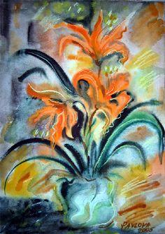 Olga Pavlova.Joy of Creation.: Amaryllis