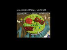 Cupcakes+colorati++per+Carnevale Mamma, Cupcakes, Desserts, Food, Tailgate Desserts, Cupcake, Deserts, Eten, Cupcake Cakes