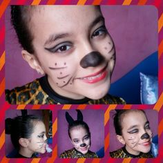 Cats Make Up!!!! My Creation and The Girl Is My Sister!!!!