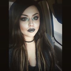Duochrome lips and eyes. Hair and makeup by Jaidyn perkins.