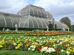 Jardim Botânico de Londres, Inglaterra. O Kew Gardens.