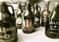 Enjoy local MN beers available in growlers