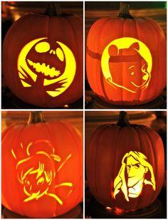 cute halloween decorations | : Superb Ideas For Halloween Pumpkin Carving Patterns, Beautiful Cute ...